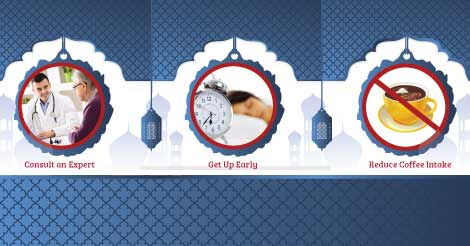 Tips to Stay Fit and Healthy during Ramadan