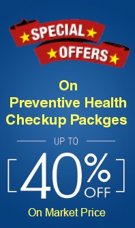 health checkup packages offers
